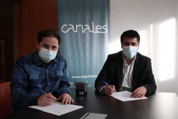 ONG Canales firma convenio con CFT Estatal